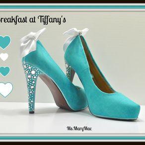 Diy tiffany blue wedding shoes part 1 the crafty esquire 85537515512 junglespirit Gallery