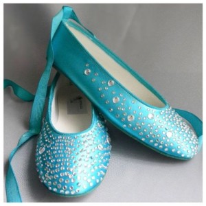Tiffany Blue Wedding Shoes Flats